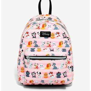 LOUNGEFLY DISNEY CLASSICS CATS & DOGS BACKPACK